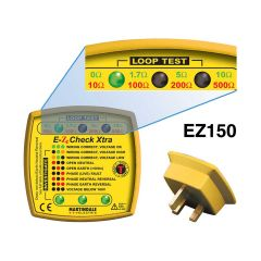 EZ150 -13 Amp Test Plug with Earth Loop Impendance Indicator - No. MAREZ150