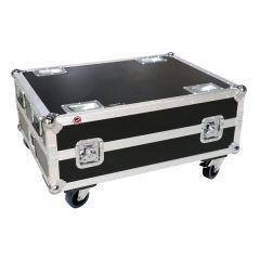 Flightcase 6 Way Charging for ADJ Element QA Wireless Uplighter