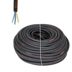 1.5mm HO7 Rubber 3 Core Cable by Titanex