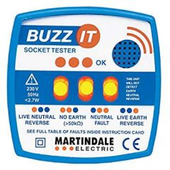 BZ101, 13 Amp Test Plug with LED & Audible Indicator - No. MARBZ101