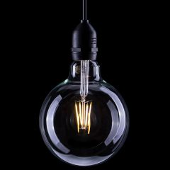 6W Globe Dimmable LED ES Filament Lamp