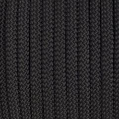 10mm Braided Yacht Rope Black