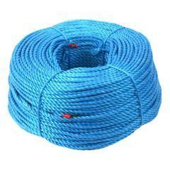 12mm Blue Polypropylene Rope 220m