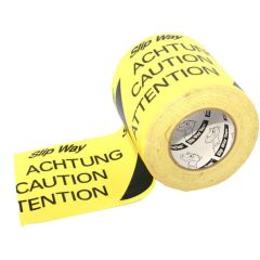 Cable Protection Tape Yellow Black