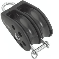 Pulley 12mm Double Marine Pulley + Becket Size 4