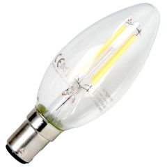 Clear Candle 3.5W Dimmable