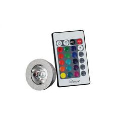 LED GU10 3W Colour Changing w/ Remote Control