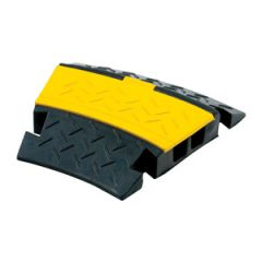 2 Channel Cable Ramp Corner 2 x 25mm
