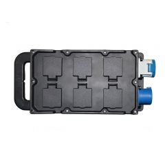 16A Rubber Socket Board with 6 x 13A Sockets