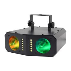 2 LED Colour Changing With Strobe Effect Prolight Boogie