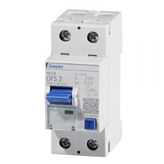 Residual Current Devices 63A / 100mA 2 Module by Doepke