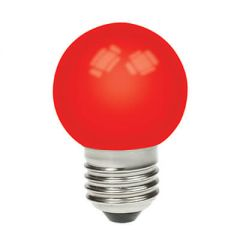 1w LED Golfball Red ES Non Dimmable