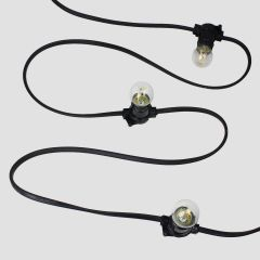 Custom LSZH Low Smoke Zero Halogen Festoon Lights - Any Length or Lamp Spacing With LED lamps