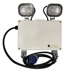 LED Emergency Floodlight IP65 : Essential emergency floodlighting for public functions in marquees and other public areas.