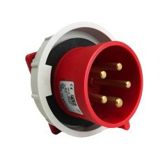 Appliance Inlet 32A 415v IP67 by PCE