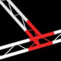 Vertical 90 Degree Junction for Ladder Truss, 200 Series by Trilite