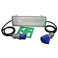 LED Emergency Exit Switched 16A in & out