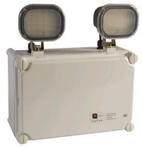 LED Emergency Twin Floodlight IP65