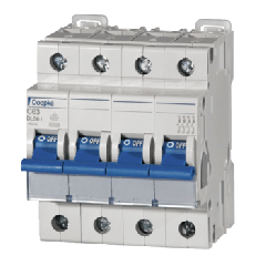 Miniature Circuit Breakers 63A Four Pole Type D by Doepke