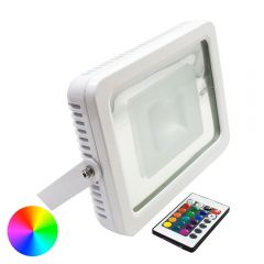 LED Colour Changing Designer Floodlight 30W
