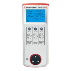 Primetest 100, Battery Powered PAT Tester, Easy Operating LCD Display