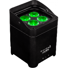IP54 SmartBat Uplighter with 4 x 8w LED's, RGBW, Battery Powered