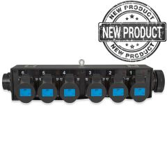 Socapex Link Through Break Out to 6 x 16A Sockets
