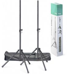 Stagg Steel Speaker Stand pair with Carry Bag
