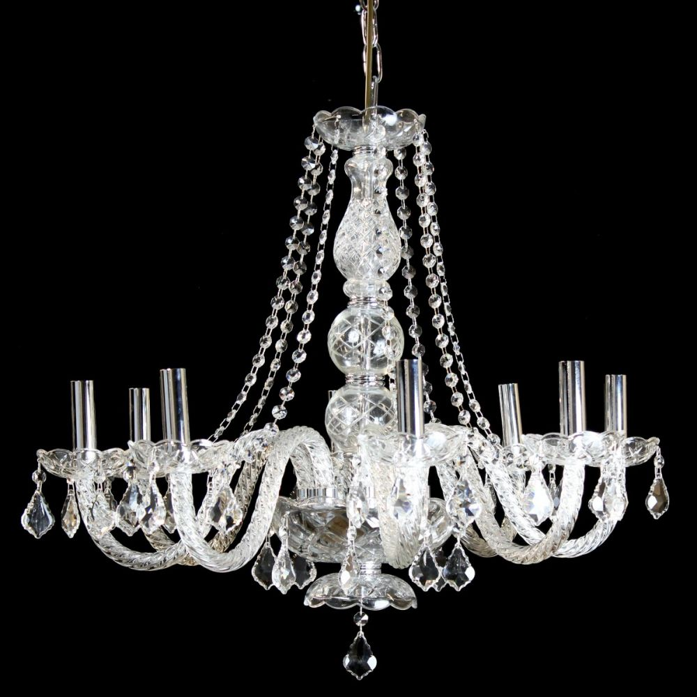 Crystals in Flight Chandelier (With images) | Chandelier