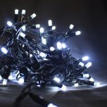 Fairy Lights Black Cable 90 x Cold White LEDS 10m