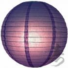 "20"" Paper Lampshade Purple"
