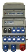 3 Phase 32A Distribution Board 415v Power Distro