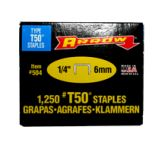 Staples Arrow 6mm For T50