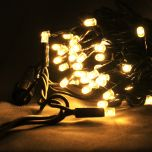 Fairy Lights Black Cable 90 x Warm White LEDS 10m