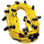 Indoor Yellow PVC Festoon – 100m x 33 BC Lampholders