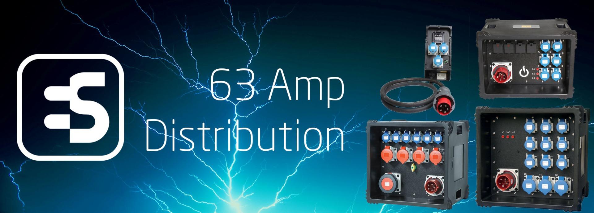 63 Amp Distribution Boards